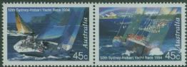 AUS SG1491a 50th Sydney to Hobart Yacht Race horizontal pair